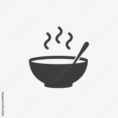 Foto Bowl Vector Icon