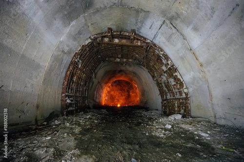 Construction of underground transportation tunnel