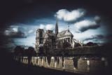 Fototapeta Paryż - Cathedral of Notre Dame de Paris, France