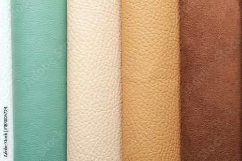 Fotografie, Obraz  Colorful fabric samples, closeup