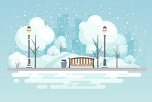 Winter City Park.