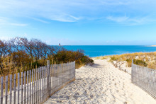 Sandy Path To The Beach Cape Henlopen, Sussex County, Lewes, Southern Delaware, USA
