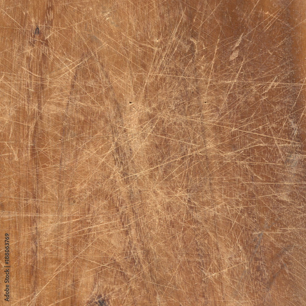 Fototapety, obrazy: Old dirty and scratched woodrn texture