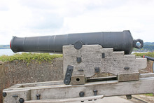 Cannon At Pendennis Castle