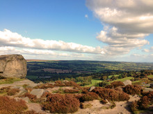 View From The Top Of Ilkley Mo...