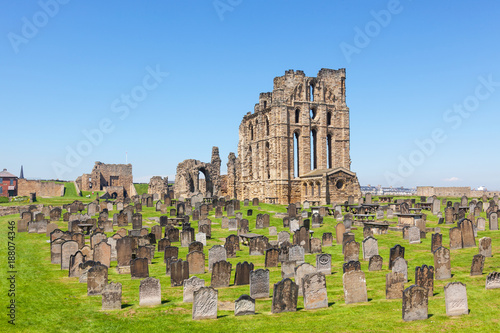 Tynemouth Castle and Priory Canvas Print