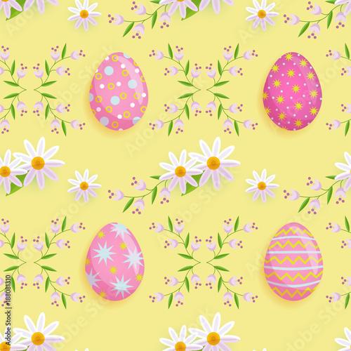 wielkanocny-wzor-z-kwiatami-i-jajami