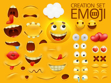 Yellow Smiley Face Emoji Chara...