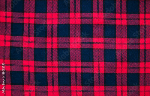 Texture Of Red Black Checkered Fabric Buy This Stock Photo And