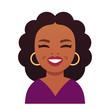 Oprah Winfrey cartoon portrait