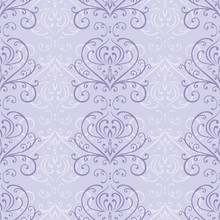 Pale Purple Seamless Pattern I...