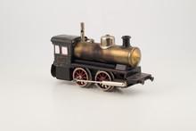 Isolated Antique Train Locomot...
