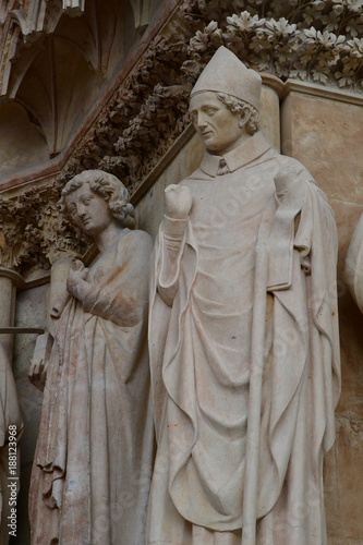 In de dag Zuid-Amerika land Reims, France - july 25 2016 : Notre Dame cathedral