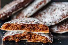 Round Lebkuchen (german Gingerbread Cookies)