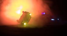 Toy BMW Police Car Chasing A F...