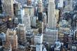 Leben in Manhattan Midtown, New York City, USA