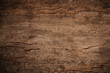 canvas print picture - Wood decay with wood termites,Old grunge dark textured wooden background,The surface of the old brown wood texture