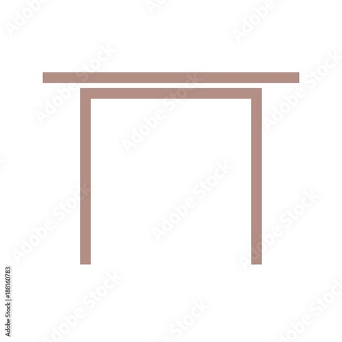 Simple Desk Icon Buy This Stock Vector And Explore Similar Vectors