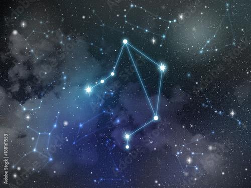 Libra constellation star Zodiac