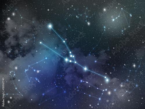 Taurus constellation star Zodiac