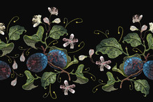 Classical Embroidery Blossomin...