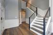 canvas print picture - Luxury custom built home interior