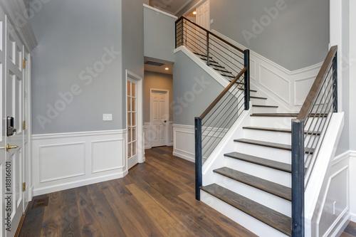 Valokuvatapetti Luxury custom built home interior