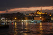 Blue mosque in Istanbul - Turkey in a night