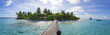 canvas print picture - Insel / Malediven