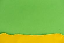 Close-up Shot Of Green And Yel...