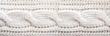 Knitted Texture. Pattern Fabri...