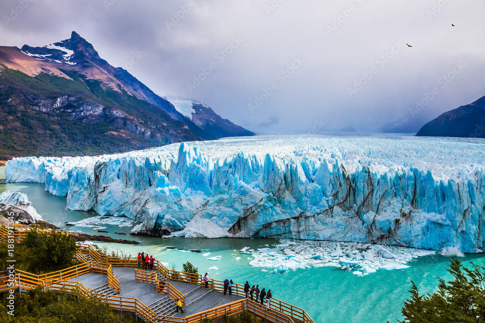 Fototapety, obrazy: Glacier Perito Moreno in the Patagonia