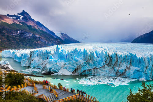 Photo sur Toile Glaciers Glacier Perito Moreno in the Patagonia
