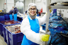 Smiling Staff Of Seafood Proce...