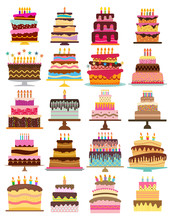 Set Of Twenty Sweet Birthday C...
