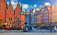 Wroclaw Central Market Square ...