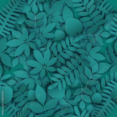 tropikalna-dzungla-modny-wzor-z-egzotycznych-lisci-palmowych-galezie-lisci-wektor-3d-wiosna-lub-lato-kwiecisty-niekonczacy-sie