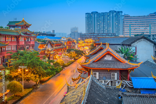Photo  Chengdu, China Cityscape