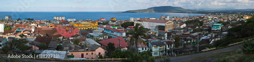 Cadres-photo bureau Mexique Panoramic view of Baracoa in Cuba
