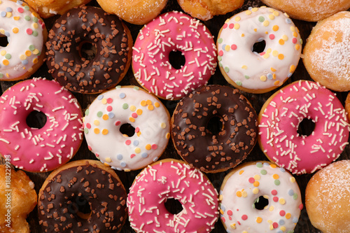 assorted glazed donut Fototapet