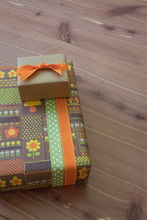 Two Small Gift Boxes In Green ...