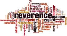 Reverence Word Cloud