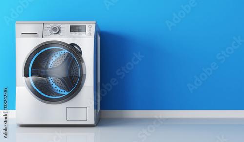 Fotografie, Obraz  Modern clothes washer
