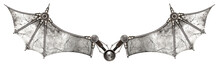 Steampunk Wings Bat Isolated