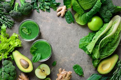 Fotografía  Green detox smoothies