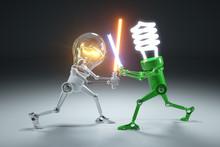 Confrontation Cartoon Personag...