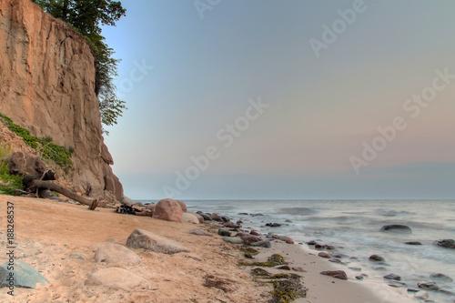 Fototapety, obrazy: Cliff at Baltic sea, Poland