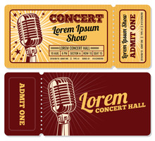 Event Or Concert Ticket Admiss...