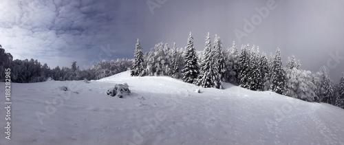 Fotobehang Velebit landscape in winter
