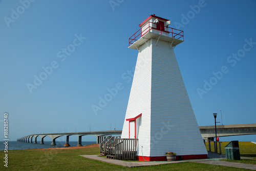 Plakat Port Borden Range Front Lighthouse na wyspie Prince Edward